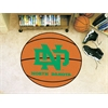 "FANMATS North Dakota Basketball Mat 27"" diameter"
