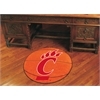 "FANMATS Cincinnati Basketball Mat 27"" diameter"