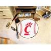 """FANMATS Cincinnati Baseball Mat 27"""" diameter"""