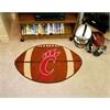 """FANMATS Cincinnati Football Rug 20.5""""x32.5"""""""