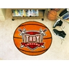 "FANMATS Troy Basketball Mat 27"" diameter"
