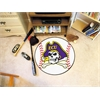 "FANMATS East Carolina Baseball Mat 27"" diameter"