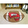 "FANMATS Western Kentucky Football Rug 20.5""x32.5"""