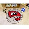 FANMATS Western Kentucky Soccer Ball