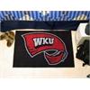 """FANMATS Western Kentucky Starter Rug 19""""x30"""""""