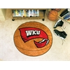 "FANMATS Western Kentucky Basketball Mat 27"" diameter"