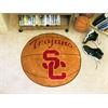 "FANMATS Southern California Basketball Mat 27"" diameter"