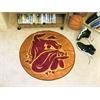"""FANMATS Minnesota-Duluth Basketball Mat 27"""" diameter"""