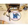 "FANMATS Memphis Baseball Mat 27"" diameter"