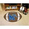 "FANMATS Memphis Football Rug 20.5""x32.5"""