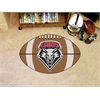 "FANMATS New Mexico Football Rug 20.5""x32.5"""