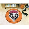 "FANMATS New Mexico Basketball Mat 27"" diameter"
