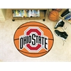 "FANMATS Ohio State Basketball Mat 27"" diameter"
