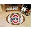 "FANMATS Ohio State Football Rug 20.5""x32.5"""