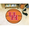 "FANMATS Houston Basketball Mat 27"" diameter"