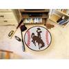 "FANMATS Wyoming Baseball Mat 27"" diameter"