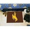 """FANMATS Wyoming Starter Rug 19""""x30"""""""