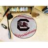 "FANMATS South Carolina Baseball Mat 27"" diameter"