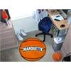 """FANMATS Marquette Basketball Mat 27"""" diameter"""