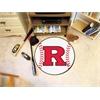 """FANMATS Rutgers Baseball Mat 27"""" diameter"""