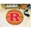 """FANMATS Rutgers Basketball Mat 27"""" diameter"""