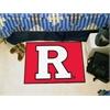 """FANMATS Rutgers Starter Rug 19""""x30"""""""