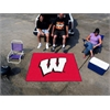 FANMATS Wisconsin Tailgater Rug 5'x6'