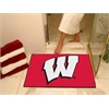 "FANMATS Wisconsin All-Star Mat 33.75""x42.5"""