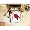 "FANMATS Saginaw Valley State Baseball Mat 27"" diameter"