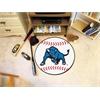 "FANMATS Buffalo Baseball Mat 27"" diameter"