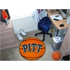 "FANMATS Pittsburgh Basketball Mat 27"" diameter"