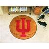"FANMATS Indiana Basketball Mat 27"" diameter"
