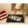 "FANMATS VCU All-Star Mat 33.75""x42.5"""