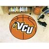 """FANMATS VCU Basketball Mat 27"""" diameter"""