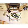 "FANMATS VCU Baseball Mat 27"" diameter"