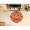 """FANMATS Virginia Basketball Mat 27"""" diameter"""