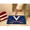 "FANMATS Virginia All-Star Mat 33.75""x42.5"""