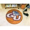 """FANMATS Gonzaga Basketball Mat 27"""" diameter"""