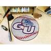 "FANMATS Gonzaga Baseball Mat 27"" diameter"