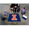 FANMATS Illinois Tailgater Rug 5'x6'