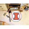 "FANMATS Illinois Baseball Mat 27"" diameter"