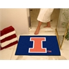 "FANMATS Illinois All-Star Mat 33.75""x42.5"""