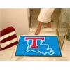 """FANMATS Louisiana Tech All-Star Mat 33.75""""x42.5"""""""
