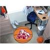 "FANMATS Mississippi State Basketball Mat 27"" diameter"