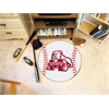"""FANMATS Mississippi State Baseball Mat 27"""" diameter"""