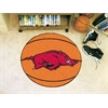 "FANMATS Arkansas Basketball Mat 27"" diameter"