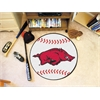 "FANMATS Arkansas Baseball Mat 27"" diameter"