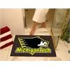 """FANMATS Michigan Tech All-Star Mat 33.75""""x42.5"""""""