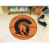 """FANMATS Arkansas-Little Rock Basketball Mat 27"""" diameter"""