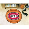 "FANMATS St. Cloud State Basketball Mat 27"" diameter"